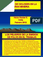 Planta de Ciclones en La Mineria