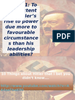 Rise of Hitler 2015