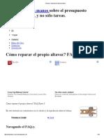 Cálculo y Liquidación Altavoz Bobina