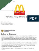 Marketing Mix y El Quinto Elemento