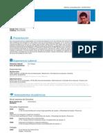 CV- Julián Rojas Díaz- Agente de Cambio