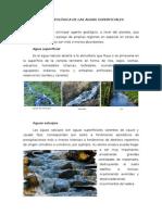 Acción Geológica de Las Aguas Superficiales
