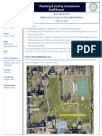 Trinity Athletic Fields Site Plan