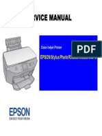 Epson Stylus Photo Rx585 595 610 SM
