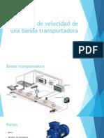 Control de Velocidad de Una Banda Transportadora