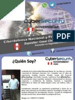 Ciberdefensa Nacional y Prospectiva