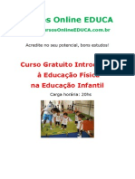 Curso Introdu o Educa o f Sica Na Educa o Infantil 64068