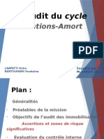 l 'Audit Du Cycle d'Immobilisation