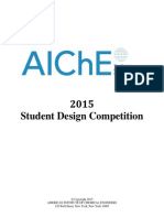 Final 2015 AIChE Student Design Problem and Rules (1)