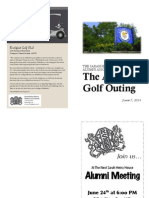 golf outing copy book