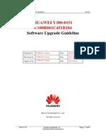 Y300-0151 V100R001C451B184 Upgrade Guideline
