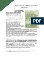 1-Propuestas Para Ley de Derecho Humano Al Agua Del D.F., Con Instancias e Instrumentos