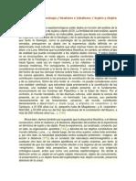 Ontología y Epistemología
