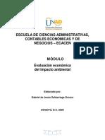 Modulo Eval Econ Imp Ambiental