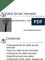 cable par trenzado