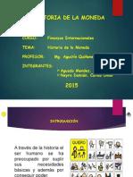 Historia de La Moneda ppt