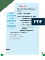 Practica de Laboratorio Archivos de Windows