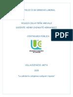 Portafolio II de Derecho Laboral