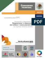 Guía Práctica Clínica Sobre Peso y Obesidad en Niños y Adolescentes