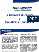 subsidios 2014