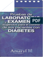 Laboratoriales Examenes Diabetes