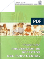 Prevencion Defecto Tubo Neural