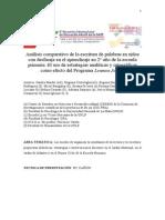 Trabajo Para Congreso OMEP (Leamos Juntos , Escritura)