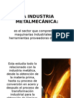 La Industria Metalmecánica