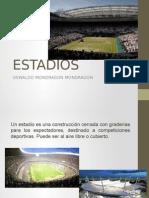 Estadios en México y el mundo