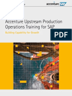 Accenture Upstream Production Operations Sap Training