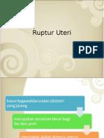PPT Ruptur Uteri