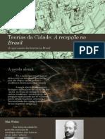 Teorias da Cidade