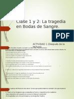 Clase 1 y 2 Octavo Basico en Escena (Teatro)