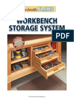 Workbench Storage System