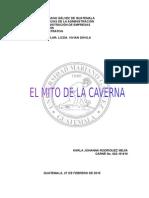 Análisis Crítico Del Mito de La Caverna