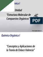 Estructura Molecular de Compuestos Orgánicos. Parte 1.