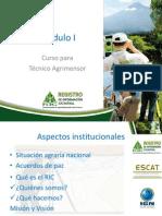 ASP. Institucionales Módulo I RIC