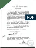 Resolucion Del Directorio Del Banco Central Sobre La Dolarizacion