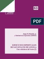 Eides 63, Ejercios E Una Relectura Del Texto 02