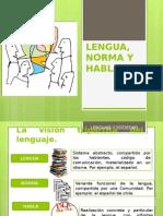 Lengua Norma y Habla