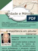 Verdade e Método - Gadamer - O Exemplo Do Clássico