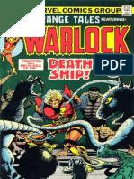 Strange Tales 179 Warlock