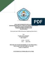 Matematika pdf tesis