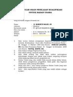 Sp-minat Pt. Qivlan Makmur Abadi Papua-Apbnp 2015