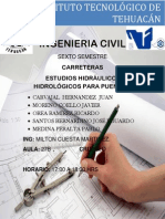 Estudios Hidráulico-Hidrológicos Para Puentes