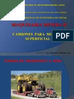 CAMIONES Mineria Superficial