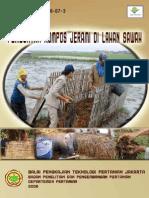 Pembuatan Kompos Jerami BPTP Jakarta