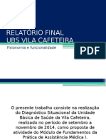 Ubs Relatorio Final