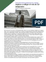 Alemania-immigrantes en El Bundestag