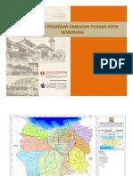Rencana Penataan Kawasan Pusaka Kota Semarang